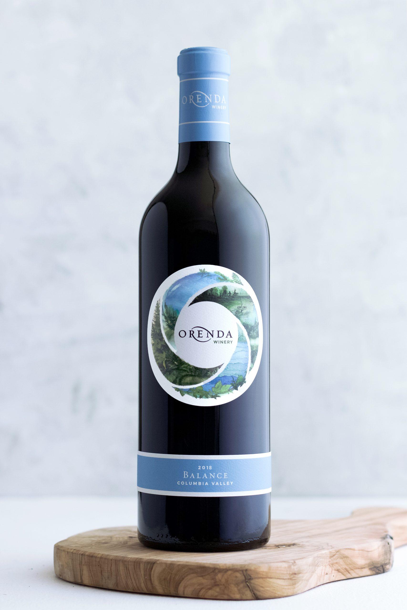 Balance Wine Bottle